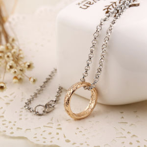 Movie Theme Metal Ring Pendant Necklace The Lord of The Ring Circle Collars Jewelry Gift pictures & photos