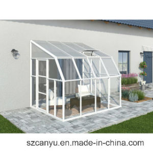 Housing Tempered Glass Roof Aluminum Sun Room/ Sunroom / Glass House pictures & photos