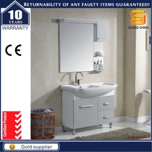 Sanitary Ware European Style Wooden Bathroom Vanity Cabinet with Legs pictures & photos