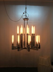 Nordic Style Hotel Iron Vintage Pendant Lighting (KAHD1375-10NI) pictures & photos