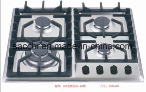 Four Burner Sabaf 2ND Gen Stainless Steel Gas Hob pictures & photos