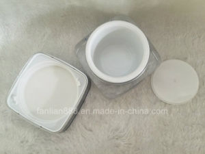 Acrylic Square Cream Jar Bottles for Cosmetic Packaging pictures & photos