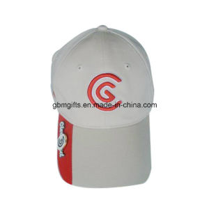 Gold Embroidered Logo Baseball Caps and Hats Cotton Twill Sports Cap High Quality 6 Panel Dad Hat pictures & photos