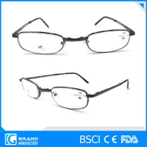 Fashion Mini Foldable Adjustable Metal Reading Glasses pictures & photos
