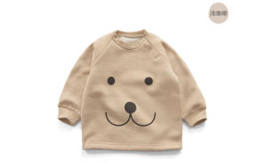 Animal Printing Baby Pull Over Hoodies Clothing pictures & photos