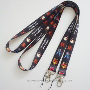 Cheap Custom Logo Wholesale Sublimation Printed Lanyard pictures & photos