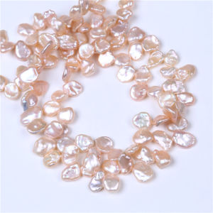 Freshwater Keshi Pearl Strands Pink Color Pearl Strandfor Costum Jewelry Design pictures & photos