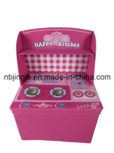Kids Storage Box with Kitchen Design (GSA9256)