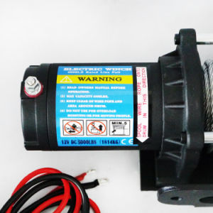 Electric Auto Winch for Truck Jeep with 5000lb Load Capacity pictures & photos