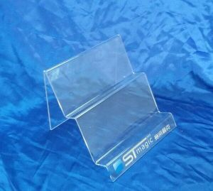 Customize Clear Desktop Acrylic Display Leaflet Holder pictures & photos