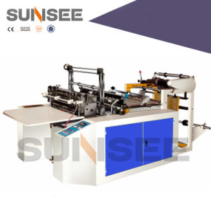 Semi-Auto Heat Sealing Cold Cutting Bag Making Machine Ldf800 pictures & photos