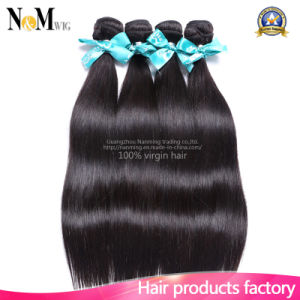 Real Brazilian Virgin Hair Machine Weft Remy Human Hairpieces pictures & photos
