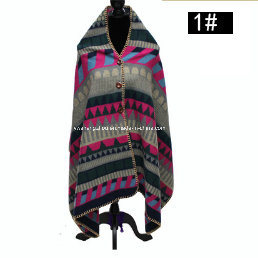 Newest High-Grade Exquisite Sewing Warm Shawl Lady Fashion Winter Scarf pictures & photos