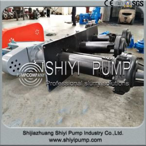 Rubber Lined Centrifugal Vertical Sump Slurry Pump pictures & photos