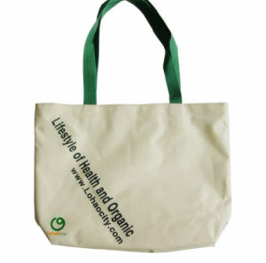 Full Color Printing Canvas Tote Bag pictures & photos