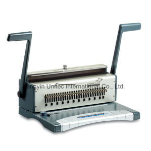 Hight Quality Products Manual Wire Book Binding Machine Products Wb-2420b pictures & photos