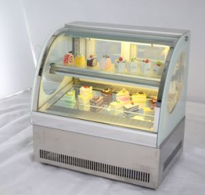 Small Size Glass Cake Display Cake Showcase Refrigerator pictures & photos