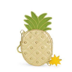Studded Pineapple Shape Mini Bag