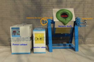 Small Induction Furnace for Gold, Iron Scrap, Steel, Aluminum, Copper Melting pictures & photos