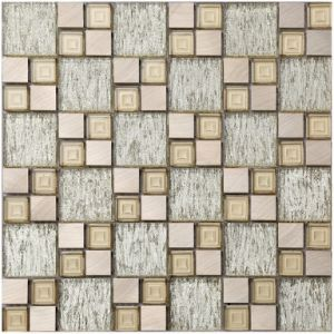 Elegant Marble Mosaic in Foshan (XZP1704) pictures & photos