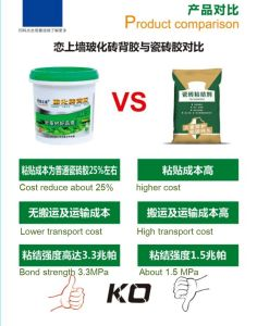 Mosaic Tile Adhesive Glue with Good Performance pictures & photos