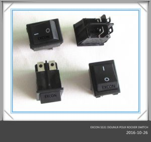 Ss31 Double Rocker Switch for Heater or Home Appliance pictures & photos
