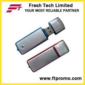 Classic Promotional Plastic&Aluminum USB Flash Drive for Customized (D103) pictures & photos
