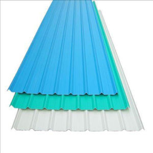 Plastic Product Clear Corrugated PC Roofing Sheet Price pictures & photos