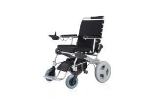Comfy E-Throne Lightweight Electric Wheelchair with Ce Certificate pictures & photos