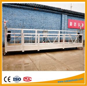 Zlp500/Zlp630/Zlp800/Zlp1000 Aluminum Suspended Platform, Galvanized Construction Gondola pictures & photos