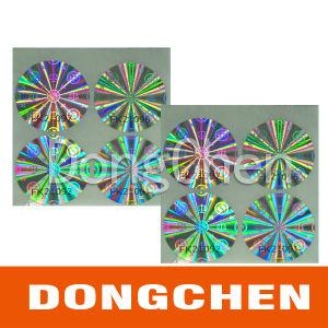 Custom Logo Printing Sheet Hologram Seal Sticker pictures & photos