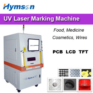 UV Laser Marking Machine for Food / Medical / Cosmetics pictures & photos