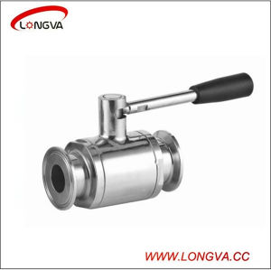 Straight Ball Valve in Stainless Steel Material pictures & photos