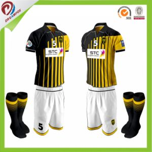 Breathable Dry Fit Custom Sublimation Cheap Football Jersey Soccer Shirt pictures & photos