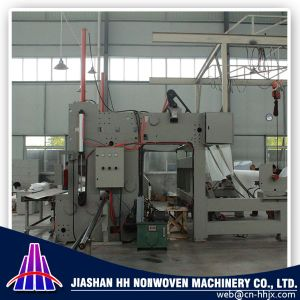1.6m PP Spunbond Nonwoven Fabric Slitting/Cutting Machine pictures & photos