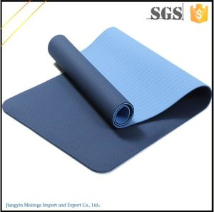 Free Samples Health Innocuous 6mm Yoga Mat TPE for Beginner pictures & photos