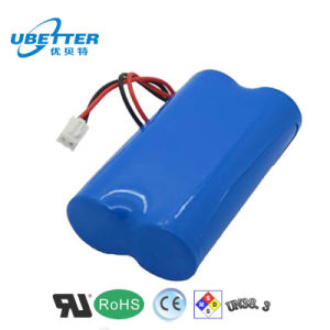 7.4V 2200mAh Rechargeable Lithium Ion Battery for Hand Electric Drill (18650) pictures & photos