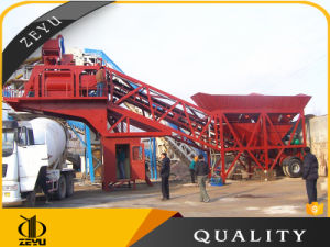 Yhzs75 Hot Selling Mobile Concrete Mixing Plant with Spare Parts pictures & photos
