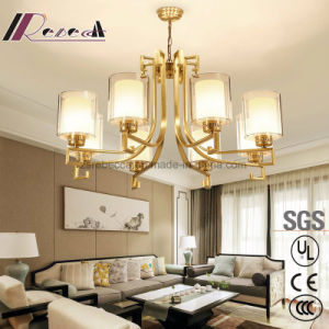 Modern Brass Chandelier Pendant Lamp for Living Room pictures & photos