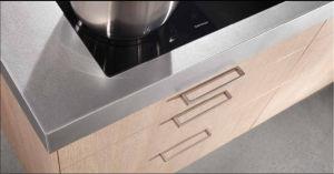 Modern Melamine Finish Wooden Kitchen Cabinet pictures & photos
