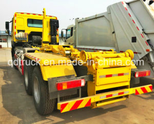 HOWO arm roll off Garbage Truck, Hook Arm Garbage Truck pictures & photos
