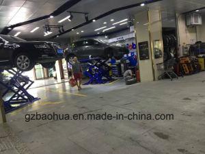 Hydraulic Scissor Car Lift/Scissor Car Lift/Motorcycle Scissor Car Lift/Portable Scissor Car Lift Cr-6108A pictures & photos