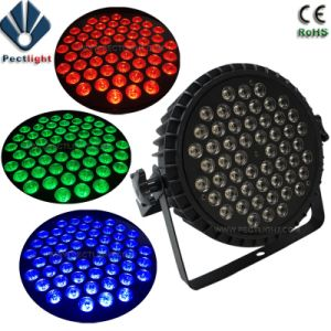 54X3watts RGB3in1 LED PAR Can Stage Light pictures & photos