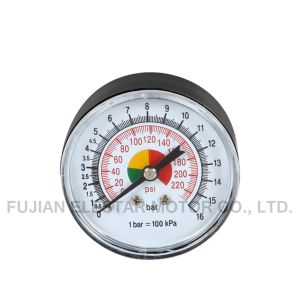Bottom Connection Axial Pressure Gauge pictures & photos