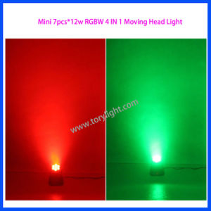 LED Light 7PCS*12W RGBW Moving Head Wash pictures & photos