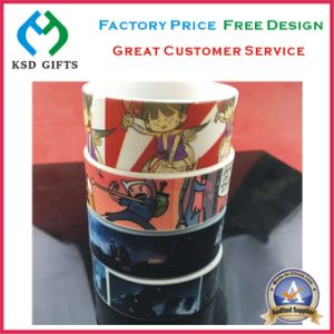 Heat Transfer Printing Silicone/Silicon Wrist Band pictures & photos