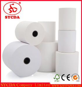 Three Proofing Thermal Cash Receipt Paper for Restaurant/Bank Printing Thermal Paper pictures & photos