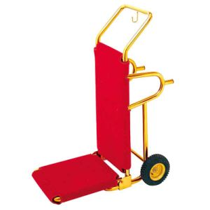 Loading Capacity up to 50kgs Foldable Hotel Luggage Cart pictures & photos