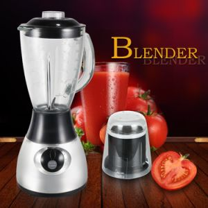 Hot Sales High Quality Low Price CB-By44hg Glass Jar Chrome Silver Color Electric Blender pictures & photos
