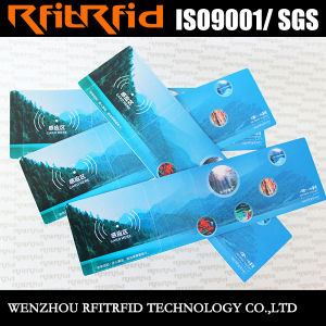 13.56MHz Color Sticker RFID Paper Ticket pictures & photos